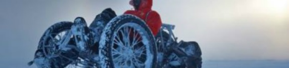 Cycling to the south pole - oblong