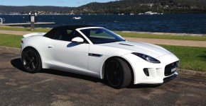 F-type - side view