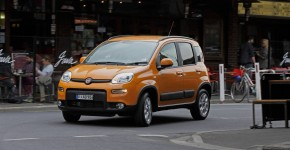 Fiat Panda - front 3 qtr