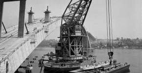 141101 - Gladesville Bridge - Construction