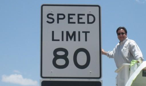 US 80mph Speed Limit